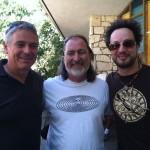 Michael, Z & Giorgio