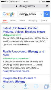 Ufology News Google
