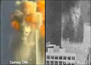 CNN and AP photos unretouched - priest and king?